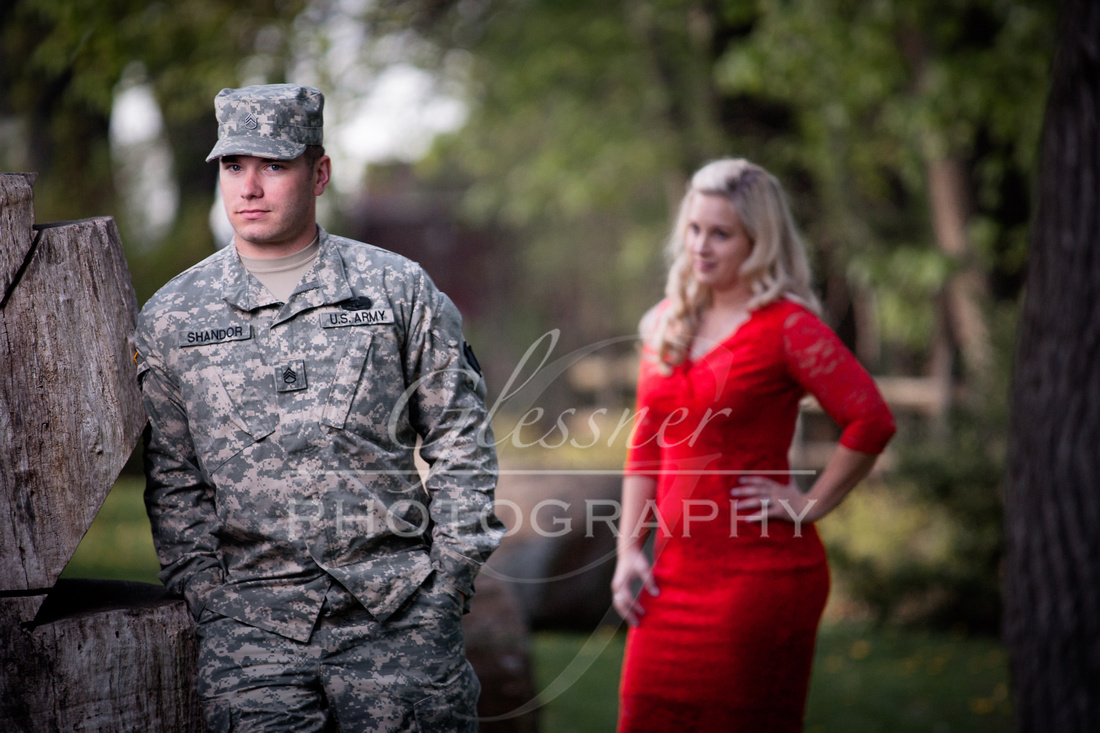 Engagement Pictures by Glessner Photography