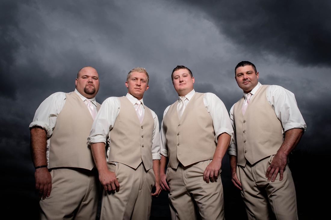 Wedding Photography. groom and grooms men