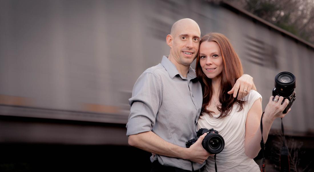 Husband and wife wedding photographers. Johnstown pa wedding photographers.